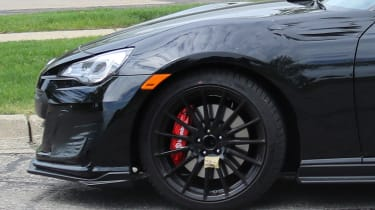 Pre-production Subaru STI BRZ - Front wheel
