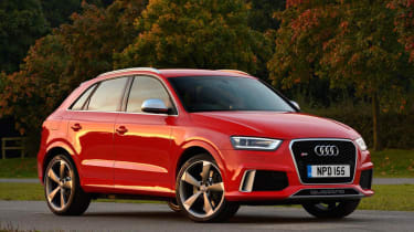 Audi RS Q3 red front
