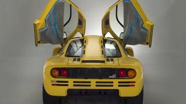McLaren F1 - rear, doors up