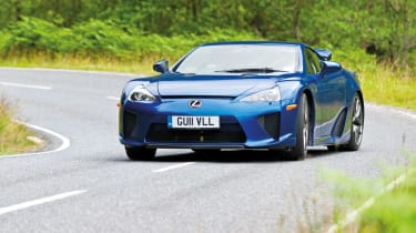Lexus LFA drift