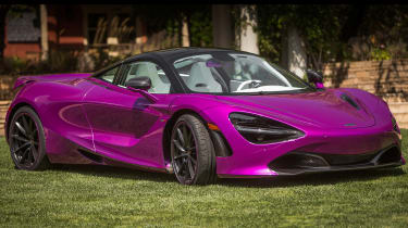 Michael Fux McLaren 720S - front three quarter