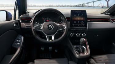 Renault Clio interior 2019 - dash