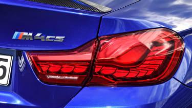 BMW M4 CS - taillight