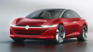 Volkswagen I.D. Vizzion – front quarter