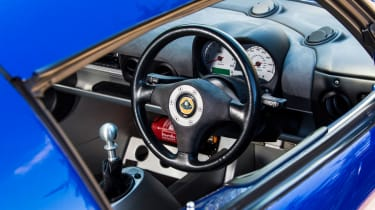 Lotus Exige S (S2) - steering wheel