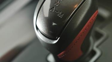 2012 Nissan GT-R gear selector