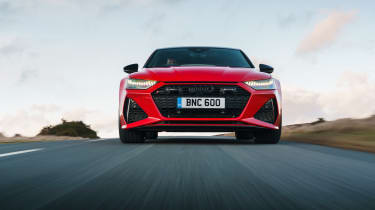 Audi RS7 red - nose tracking