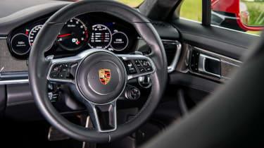 Porsche Panamera Turbo – steering wheel