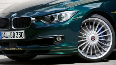 Alpina D3 Bi-Turbo wheel