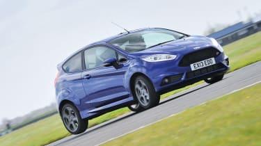 Ford Fiesta ST cornering