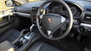 Porsche Cayenne diesel interior
