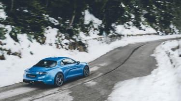 Alpine A110 - rear three quarter