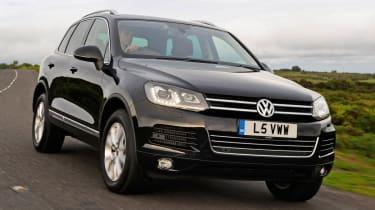 Volkswagen Touareg 3 0 V6 TDI SE diesel review | Evo