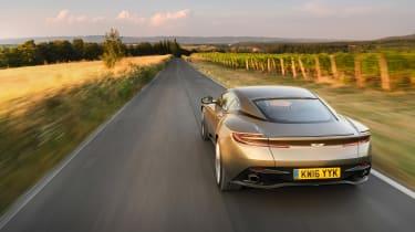 Aston Martin DB11 roadtrip - rear