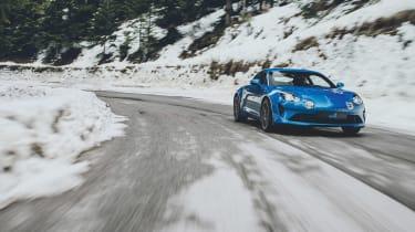 Alpine A110 - front three quarter