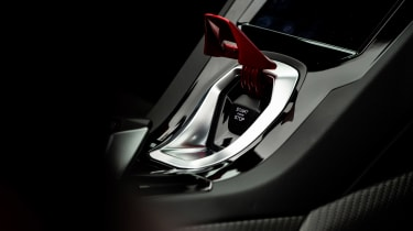 Lamborghini Huracán Evo Spyder – stop start button