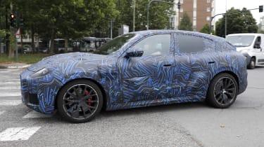 2022 Maserati Grecale Trofeo prototype – side quarter