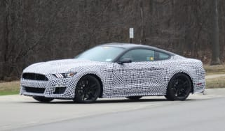 Ford Mustang Shelby GT500 in testing – side