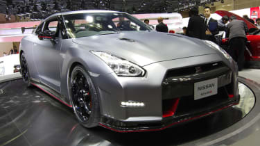 Nissan GT-R Nismo Tokyo motor show stand