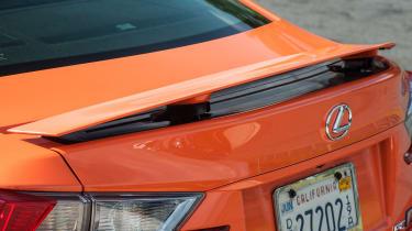 Lexus RC F rear spoiler