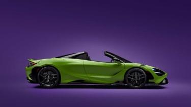 McLaren 765LT Spider – profile