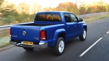 VW Amarok V6 - driving