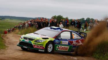 Ford Focus RS WRC world rally car