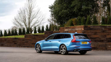 Volvo V60 R-design - rear