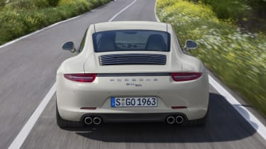 Porsche 911 50 Years Edition rear