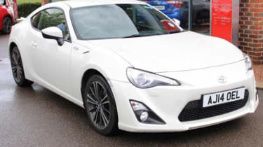 Toyota GT86 - front three quarter