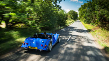 Morgan Plus 8 50th Anniversary Edition - rear quarter