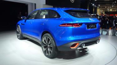 Jaguar C-X17 SUV blue