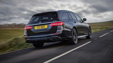 2021 Mercedes-AMG E53 4Matic+ Estate - rear tracking