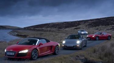 R8 meets its rivals