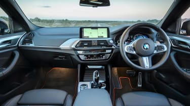 2018 BMW X4 20d drive - interior