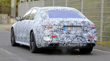 Mercedes-AMG S63 2021 spy tail