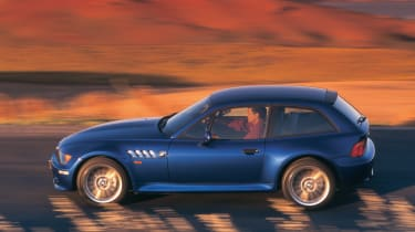 BMW Z3 M Coupe side