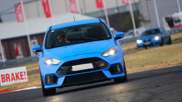 evo Trackday Bedford 27AUG - Ford Focus RS