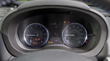 Subaru Levorg dials
