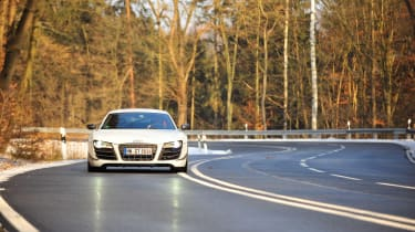 Audi R8 GT in Germany - nose