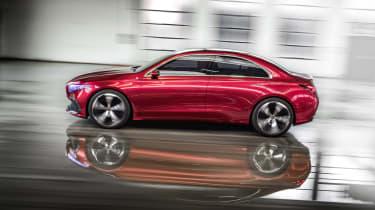 Mercedes-Benz Concept A Sedan side action
