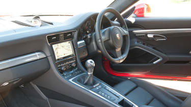 2012 Porsche 911 Carrera manual interior
