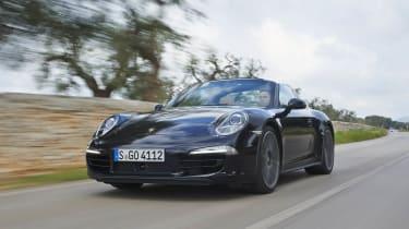 Porsche 911 Targa 4S front