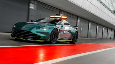 Aston Martin Vantage safety car - nose
