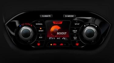 Nissan Juke controls