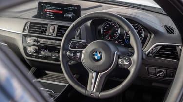 BMW M2 Competition vs Toyota GR Supra - cabin BMW