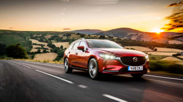 Mazda 6 MY18 review - front