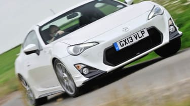 Toyota GT86 TRD front cornering