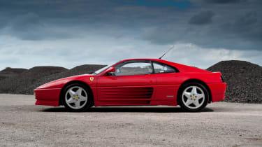 Ferrari 348 tB side profile