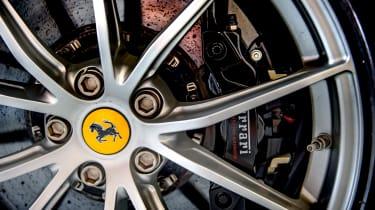 Ferrari 812 Superfast Anglesey - brakes